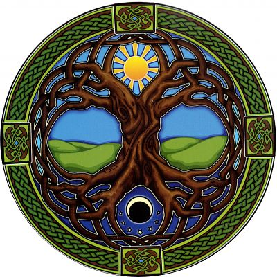 Tree of Life Window Sticker