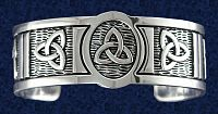 Triquetra Cuff Bracelet - Free shipping on orders over $50 at Gryphon