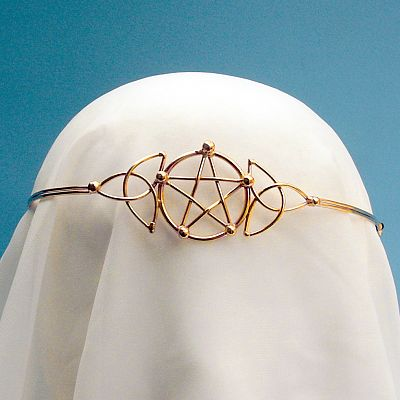 Bronze Pentacle Crown