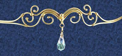 Shop Single Drop Bronze Tiara - Free shipping on orders