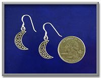 Mysterious Crescent Moon Earrings - Clearance Jewelry, Earrings, Clearance