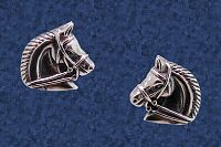 Horsehead Earrings - Earrings, Horses