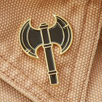 Battle Axe Enamel Pin