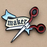 """Maker"" Enamel Pin"