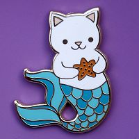 Mermaid Kitty Enamel Pin