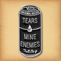 """Tears of Mine Enemies"" Enamel Pin"
