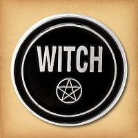 """Witch"" Enamel Pin"