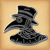 Plague Doctor Enamel Pin