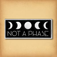 """Not A Phase"" Enamel Pin"
