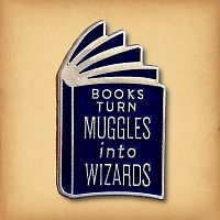Muggles Into Wizards Enamel Pin