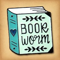 """Book Worm"" Enamel Pin"