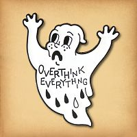 """Overthink Everything"" Enamel Pin"