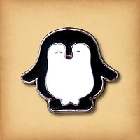 Small Penguin Enamel Pin