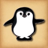 Large Penguin Enamel Pin