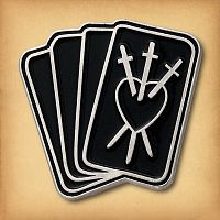 Tarot Cards Enamel Pin