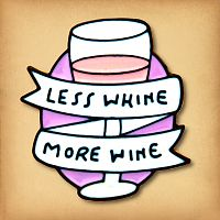 More Wine Enamel Pin