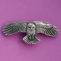 Owl's Flight Barrette
