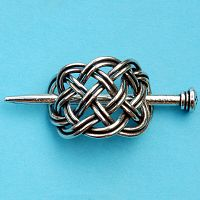 Small Basket Stick Barrette