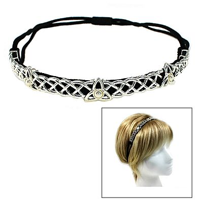 Triquetra Headband - Hair Accessories, Handfasting & Wedding, Triquetras