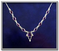 Filigree Amethyst Necklace