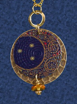 Blue moon pendant for you at gryphons moon blue moon pendant clearance pendants aloadofball Images