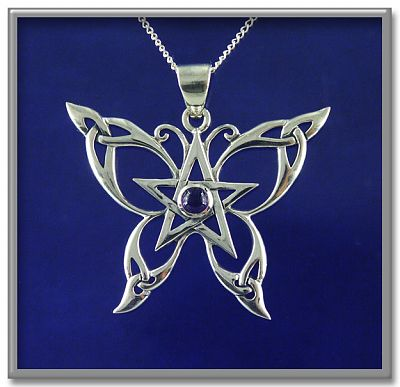 Celtic Butterfly Pendant Item Detail for PSS337 at Gryphon 39s Moon