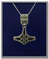 Celtic Thor's Hammer Pendant - Celtic Pendants, Claddagh Pendants and much more!, Pagan, Thor's Hammer, Pagan Jewelry, Celtic Jewelry, Norse - Viking