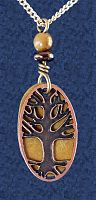 Autumn Glow Pendant - Trees & Greenman, More Pendants