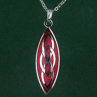 Red Celtic Pendant
