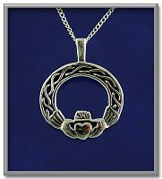 Filigree Claddagh Pendant - Clearance Jewelry, Celtic Pendants, Claddagh Pendants and much more!, Clearance