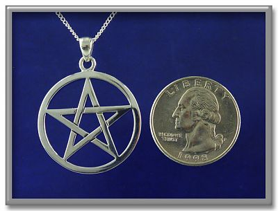 Large Open Pentacle Pendant Item Detail For Pss 440 At
