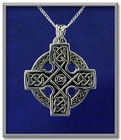 Lots of Knots Cross Pendant - Celtic Pendants, Claddagh Pendants and much more!, Celtic Crosses, Celtic Jewelry, New Lower Silver Prices