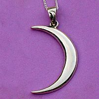 Silver Lunar Magic Pendant