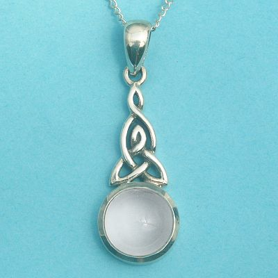 Celtic Moonstone Pendant for You at Gryphon's Moon