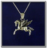 Pegasus Pendant - Horses, Celtic Pendants, Claddagh Pendants and much more!, Take Flight