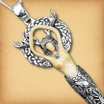 Wild Goddess Crystal Necklace