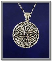 Celtic Cross Pendant - Celtic Pendants, Claddagh Pendants and much more!, Celtic Crosses, Celtic Jewelry, New Lower Silver Prices
