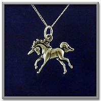 Unicorn Pendant - Unicorns, Horses, Celtic Pendants, Claddagh Pendants and much more!, Gifts for Dreamers