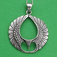 Silver Wings Pendant