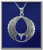 Wings Pendant - Celtic Pendants, Claddagh Pendants and much more!, Take Flight, Gifts for Animal Lovers