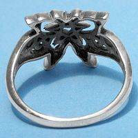 Silver Celtic Butterfly Ring