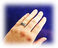 Celtic Hearts Spin Ring - Clearance Jewelry, Clearance