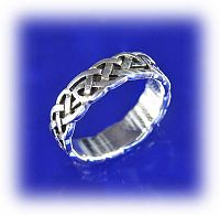 Medium band of Celtic knotwork - Clearance Jewelry, Clearance