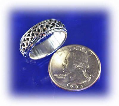 Shop Celtic Spin Ring Free Shipping On Orders Over 50