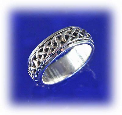 Celtic Spin Ring - Clearance Jewelry, Clearance