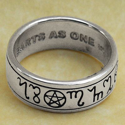 pagan handfasting ring celtic rings claddagh rings wedding rings and more pentacles - Pagan Wedding Rings