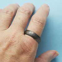 Stainless Steel Odin's Runes Ring