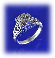 Prayer Box Poison Ring - Clearance Jewelry, Sterling Silver Rings, Celtic Rings, Claddagh Rings, Wedding Rings and More!, Clearance