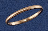 Faux Rose Gold Narrow Band - Clearance Jewelry, Clearance