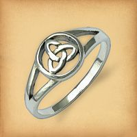 Silver Triquetra Ring